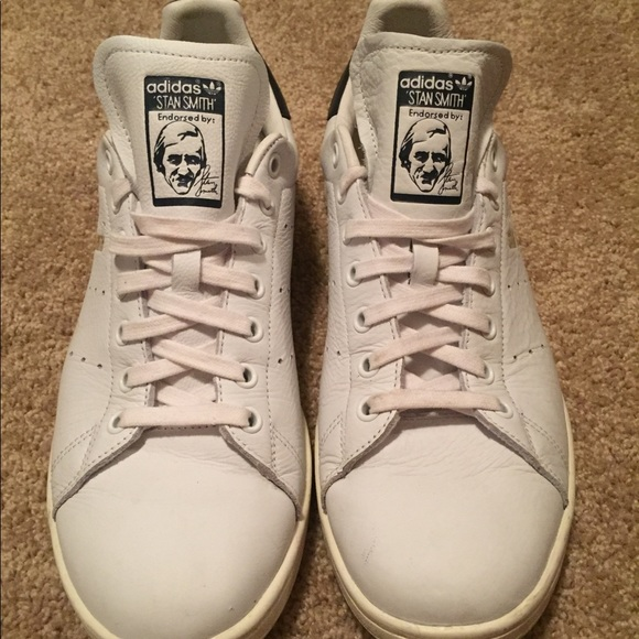buy online 5a785 d1c4d Size 11 Adidas Stan Smith Shoes (cloud white)